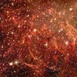 Nevel in Kosmische ruimte Elementen van dit die beeld door NASA wordt geleverd stock fotografie