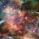 Nevel in Kosmische ruimte Elementen van dit die beeld door NASA wordt geleverd vector illustratie