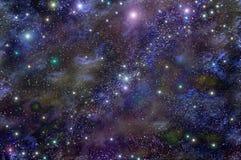 Nevel van de heelal de diepe ruimtester Stock Afbeeldingen