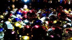 Nevelige ballen voor de vakantie royalty-vrije stock afbeelding