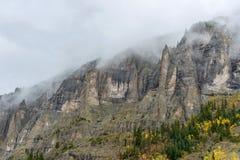 Nevelige berg Stock Afbeelding