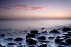 Nevelige zonsopgang Stock Afbeelding