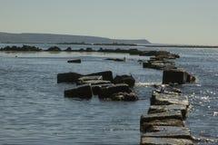 Nevelsk island. Sackalin island wievs ocean and hills royalty free stock photography