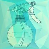 Neveltrekker, verstuiver, spuitbus, pulverizer, luchtkanon Stock Foto