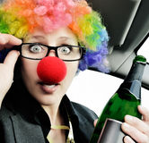 Never Drink and Drive Royalty Free Stock Photography