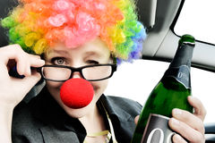 Never Drink and Drive Stock Photography
