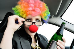 Never Drink and Drive Royalty Free Stock Photo