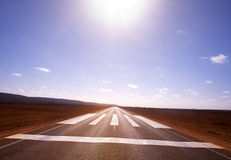 Never Ending Road , Nullarbor Plain Royalty Free Stock Images