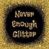 Never enough glitter Stock Photos