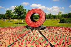 Never Forget Memorial, Alrewas. Stock Images