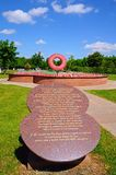 Never Forget Memorial, Alrewas. Royalty Free Stock Image