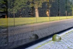 Never Forget. Vietnam Veterans Memorial, National Mall, Washington DC Stock Photography