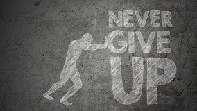 Free Never Give Up Stock Photography - 62232702