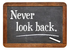 Never look back Royalty Free Stock Photos