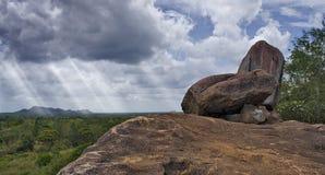 Never say its over. Scenic district of Anuradhapura -  Sri Lanka Stock Photo
