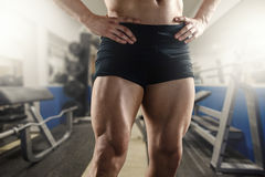 Never Skip Leg Day Stock Image