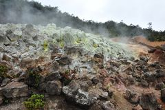 The Never Sleeping Kilauea Volcano Stock Images