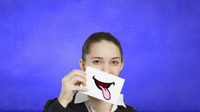 Never stop smiling Stock Photography