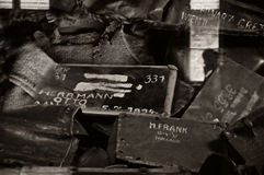 Never to Return Auschwitz Composite Royalty Free Stock Images