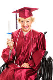 Never Too Old For Education Stock Photography