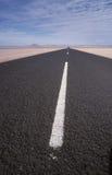 Neverending дорога Стоковое Фото