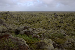 Neverending равнина outwash в Исландии Стоковое фото RF