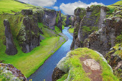 Neverland Iceland Royalty Free Stock Image