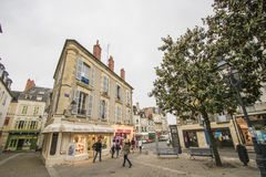Nevers, Bourgogne, France Stock Images