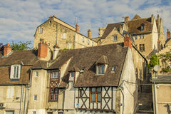 Nevers, Bourgogne, France. Nevers is the prefecture of the Nièvre department in the Bourgogne-Franche-Comté region in central France. It was the principal city Stock Image