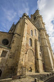 Nevers, Bourgogne, France. Nevers is the prefecture of the Nièvre department in the Bourgogne-Franche-Comté region in central France. It was the principal city Royalty Free Stock Photos