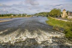 Nevers, Bourgogne, Francja Zdjęcie Stock