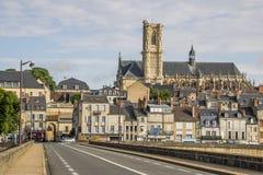 Nevers, Bourgogne, Francja Obraz Royalty Free