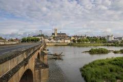 Nevers, Bourgogne, Francja Zdjęcia Royalty Free
