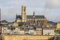 Nevers, Bourgogne, Francja Obrazy Royalty Free
