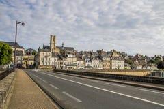 Nevers Bourgogne, Frankrike Arkivbilder