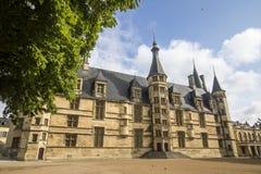 Nevers Bourgogne, Frankrike Arkivfoto