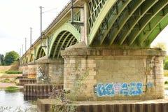 Nevers - Frankrijk stock foto