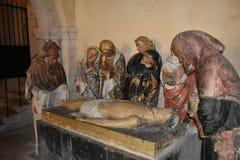 Neverskathedraal - Nevers - Frankrijk royalty-vrije stock foto