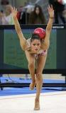Neviana Vladinova individual rhythmic gymnast Stock Photos