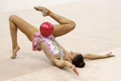 Neviana Vladinova individual rhythmic gymnast Stock Images