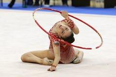 Neviana Vladinova individual rhythmic gymnast Stock Image