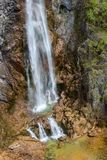 Nevidio canyon in Montenegro stock images