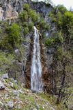 Nevidio canyon in Montenegro royalty free stock photography