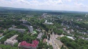 Nevinnomyssk La Russia, la regione di Stavropol' stock footage