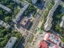 Nevinnomyssk Rússia, a região de Stavropol fotos de stock