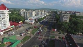 Nevinnomyssk, Russia - giugno 2018: la via centrale Regione di Stavropol' archivi video