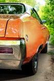 NEVINOMYSSC, ΡΩΣΙΑ - 13 ΜΑΐΟΥ 2016: Αυτοκίνητα Οφσάιτ φωτογραφία των παλαιών αμερικανικών αυτοκινήτων ΣΙΤΑΡΉΘΡΑ GS 350 1968S BUIC Στοκ Εικόνες