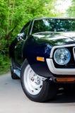 NEVINOMYSSC ROSJA, MAJ, - 13, 2016: Samochody Offsite fotografia starzy Amerykańscy samochody MC AMX darda 1972s maszyny obrazy stock
