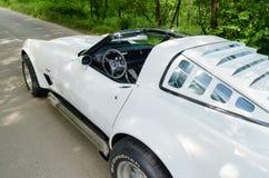 NEVINOMYSSC ROSJA, MAJ, - 13, 2016: Samochody Offsite fotografia starzy Amerykańscy samochody Chevrolet korweta C3 1978s Obraz Royalty Free