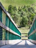 Nevis bridge Stock Image